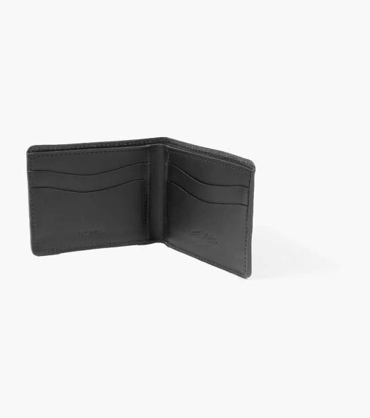 Florsheim Bifold Wallet Bifold Wallet Made in USA Men's Small Leather Goods Accessories  - Wine