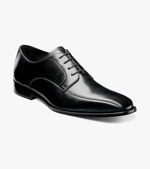 Florsheim Jacobi Jacobi Bike Toe Oxford Men's Dress Shoes  - Black - Size: 7, 7.5, 9, 12, 13, 14