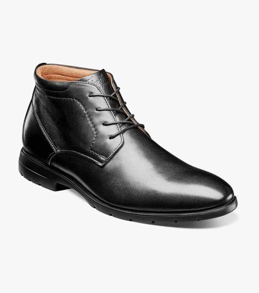 Florsheim Westside Westside Plain Toe Chukka Boot Men's Dress Shoes  - Black Brown CH Cognac - Size: 7, 7.5, 8, 8.5, 9, 9.5, 10, 10.5, 11, 11.5, 12, 13, 14