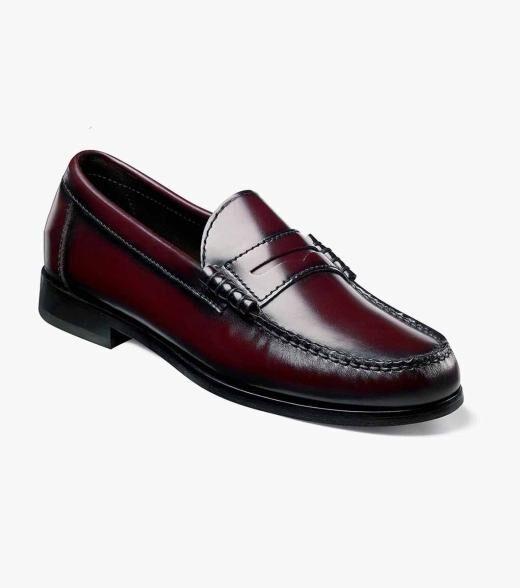 Florsheim Jefferson Jefferson Factory Second Men's Dress Shoes  - Cordovan - Size: 8, 10
