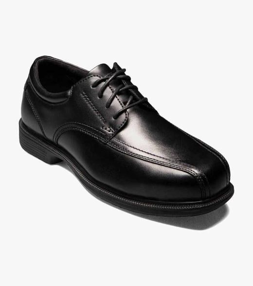 Florsheim Coronis Steel Toe Coronis Steel Toe Bike Toe Oxford Men's Safety Shoes  - Black - Size: 7, 7.5, 8, 8.5, 9, 9.5, 10, 10.5, 11, 12, 13, 14
