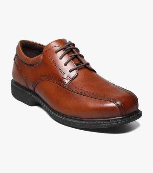 Florsheim Coronis Steel Toe Coronis Steel Toe Bike Toe Oxford Men's Work Shoes  - Brown - Size: 8, 8.5, 9, 9.5, 10, 10.5, 11, 12, 13