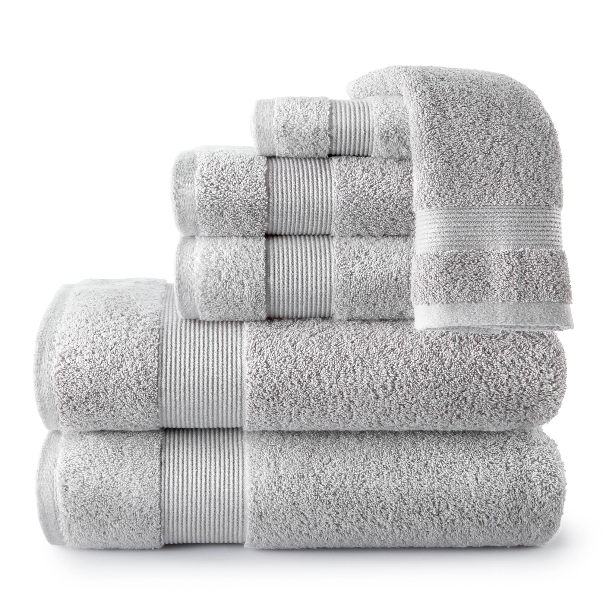 Peacock Alley Light Grey Liam Turkish Towel Collection -Sheet
