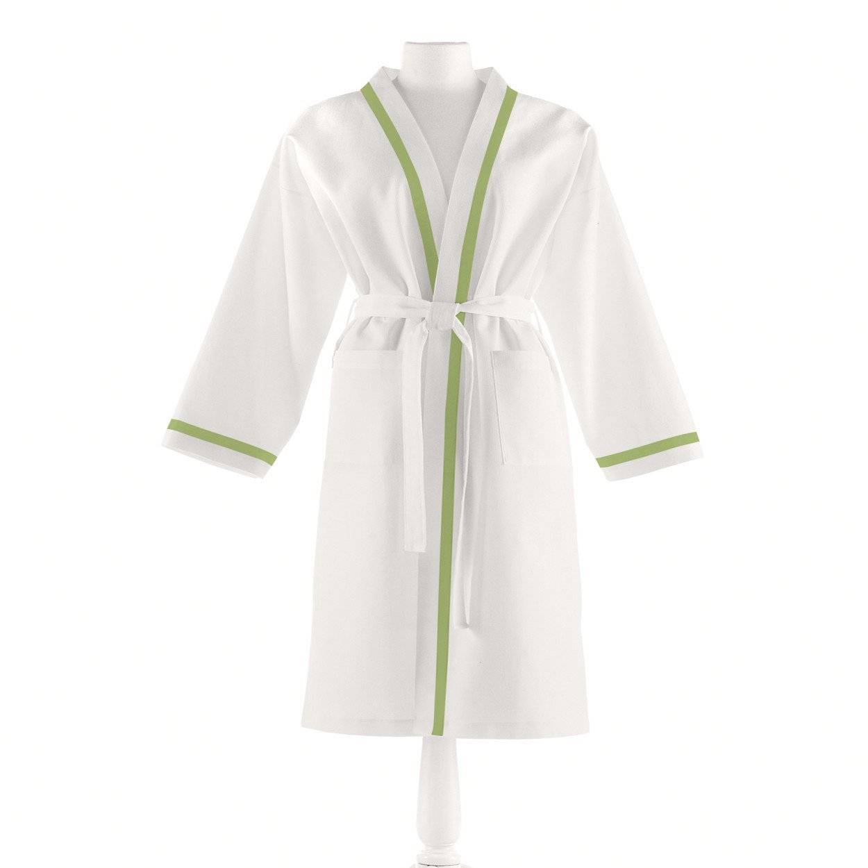 Peacock Alley Meadow Pique Bathrobe -Large/Extra Large