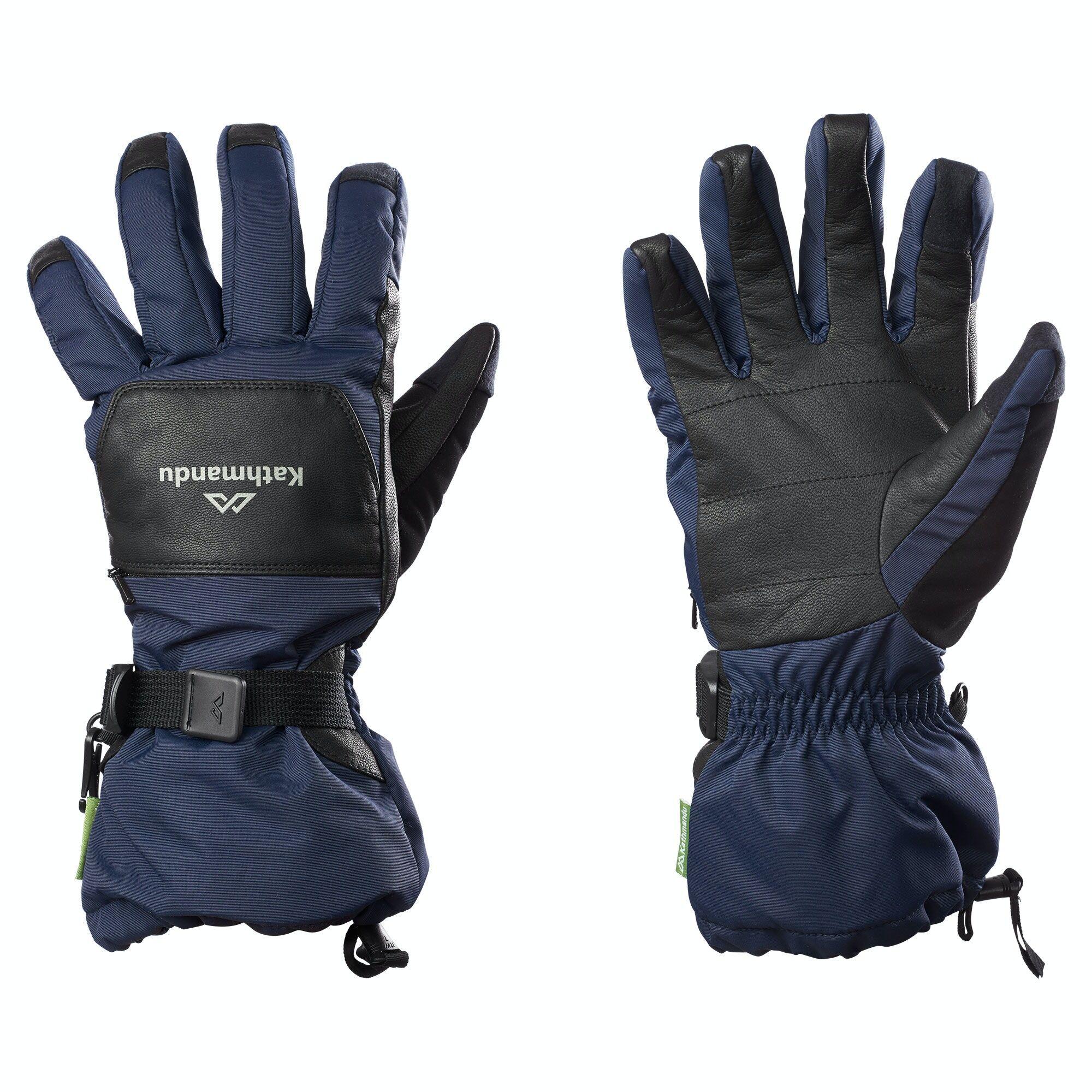 Kathmandu Snow Sports Gloves  - Dark Navy - Size: Extra Small