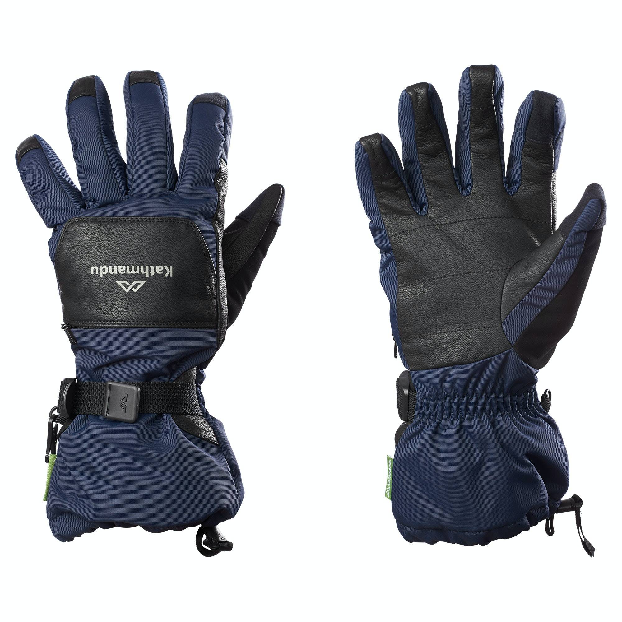 Kathmandu Snow Sports Gloves  - Dark Navy - Size: Extra Large