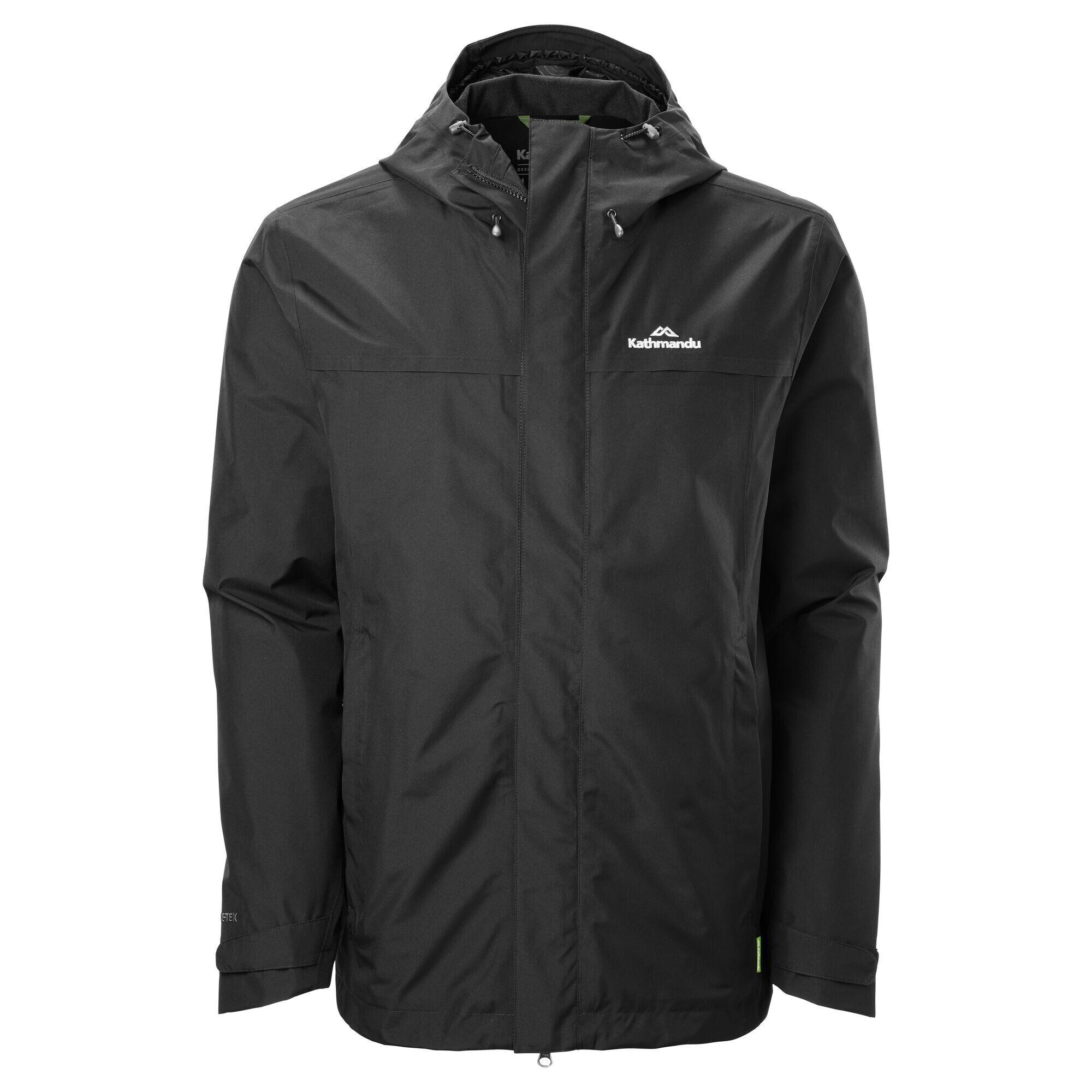 Kathmandu Bealey Men's GORE-TEX Jacket  - Black - Size: Medium