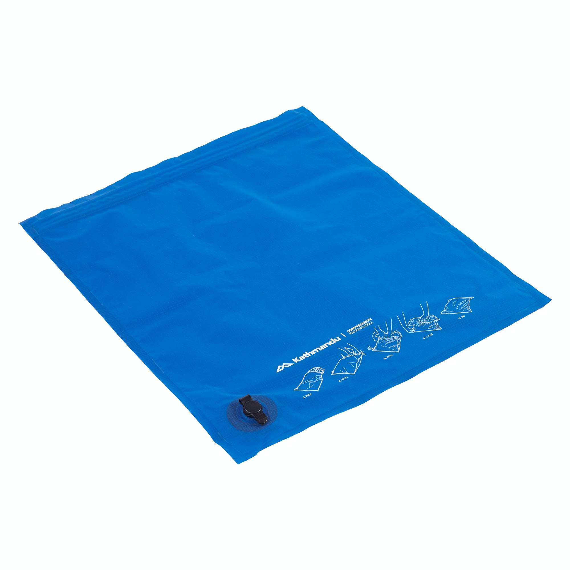 Kathmandu Packing Cell Compression  - Azure - Size: ONE