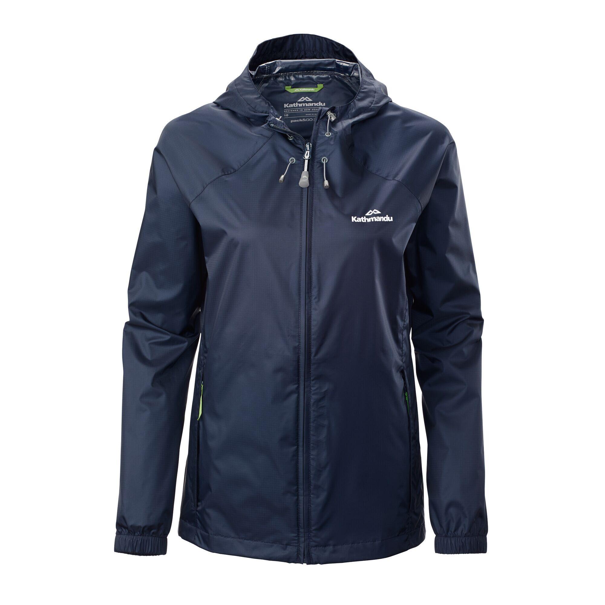 Kathmandu Pocket-it Women's Rain Jacket  - Midnight Navy - Size: US 8