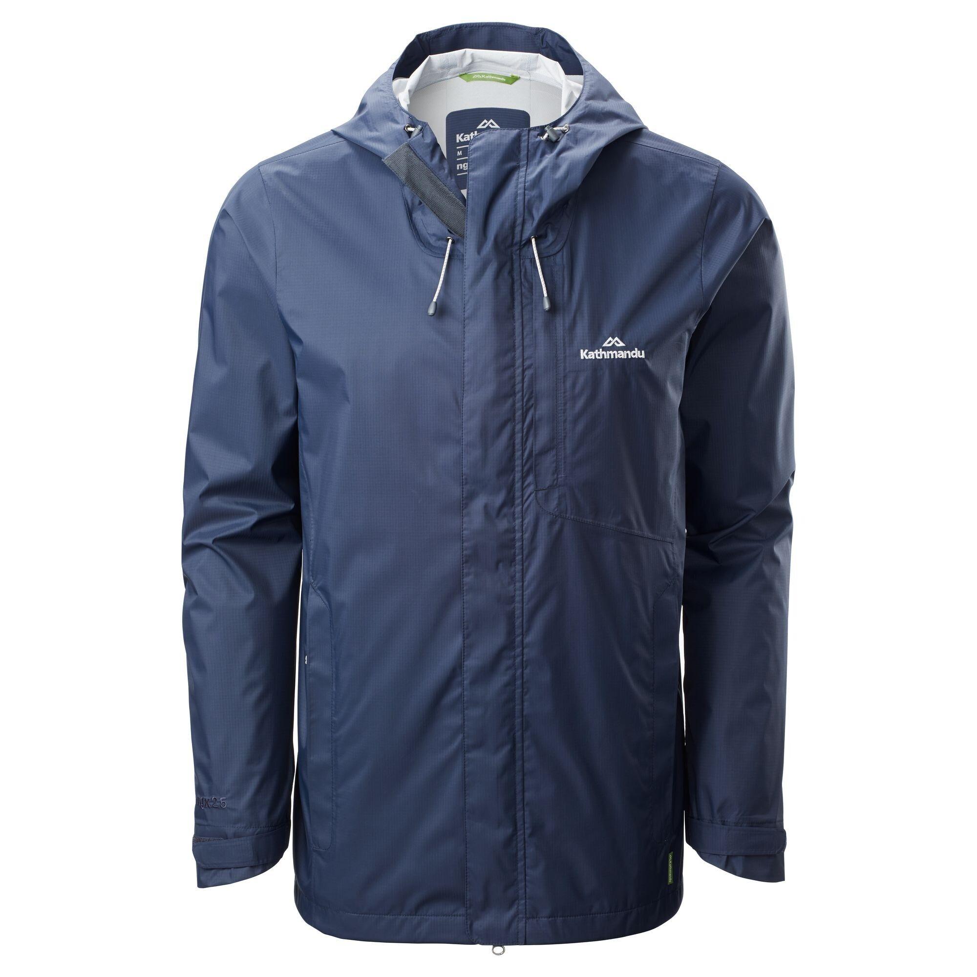 Kathmandu Trailhead Men's Rain Jacket  - Midnight Navy - Size: Medium