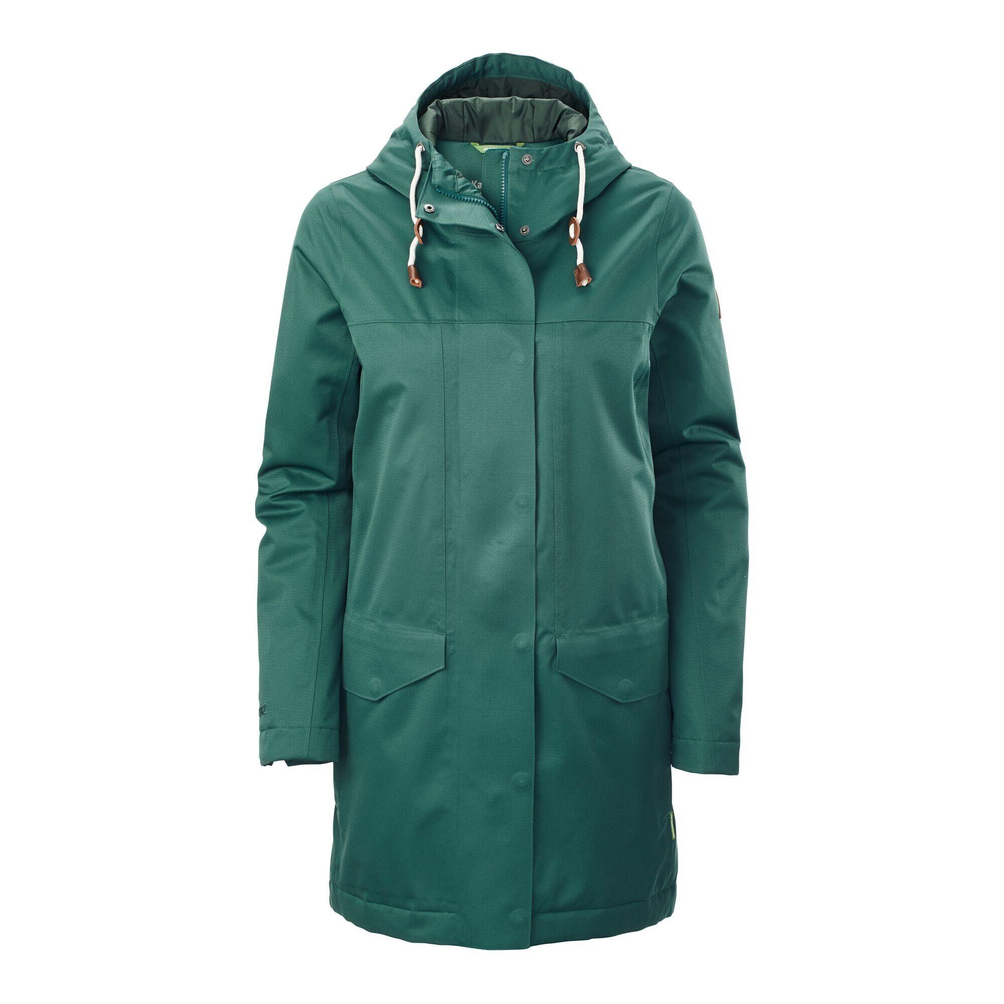 Kathmandu Stockton Women's Rain Jacket  - Pine - Size: US 2
