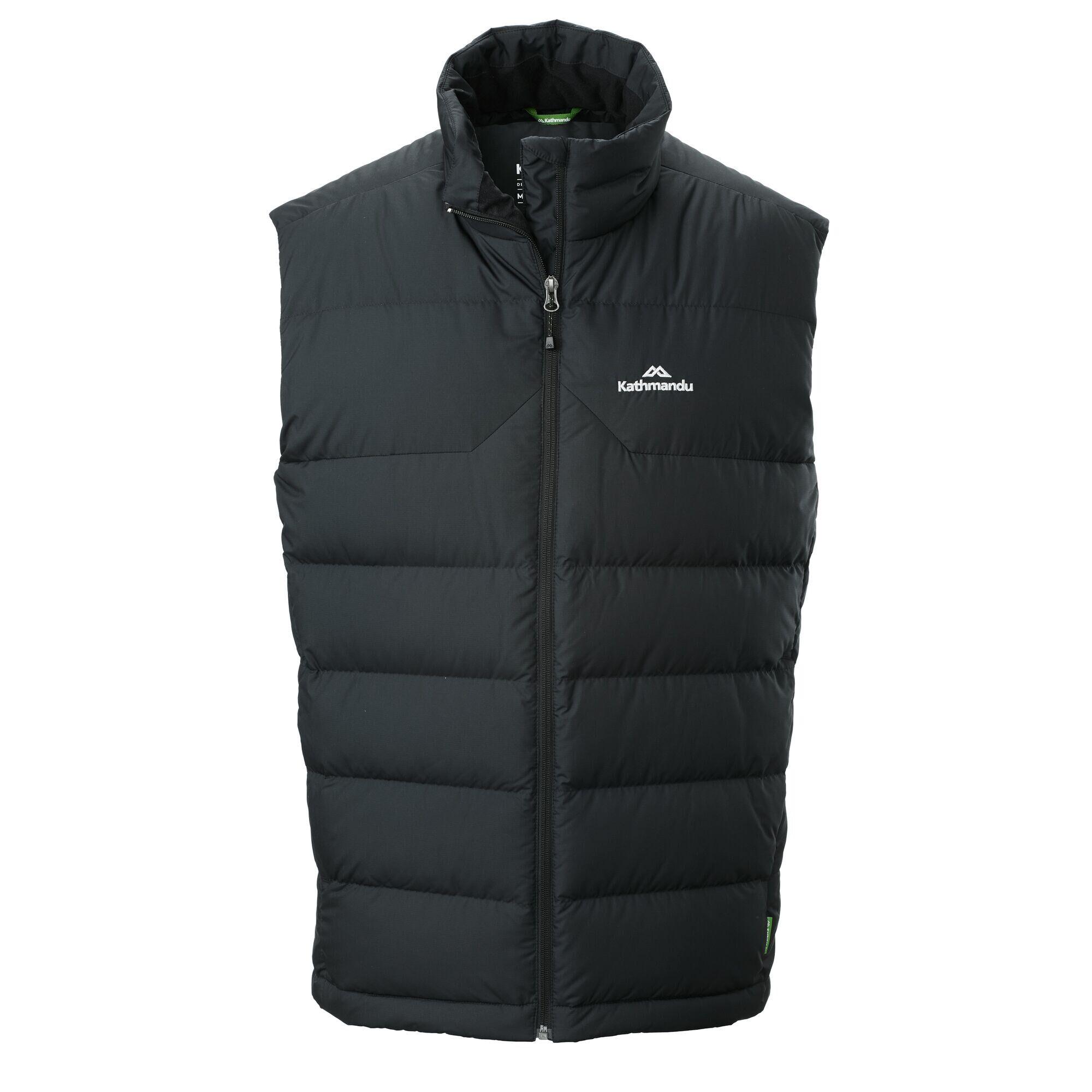 Kathmandu Epiq Men's 600 Fill Down Vest  - Black - Size: Medium