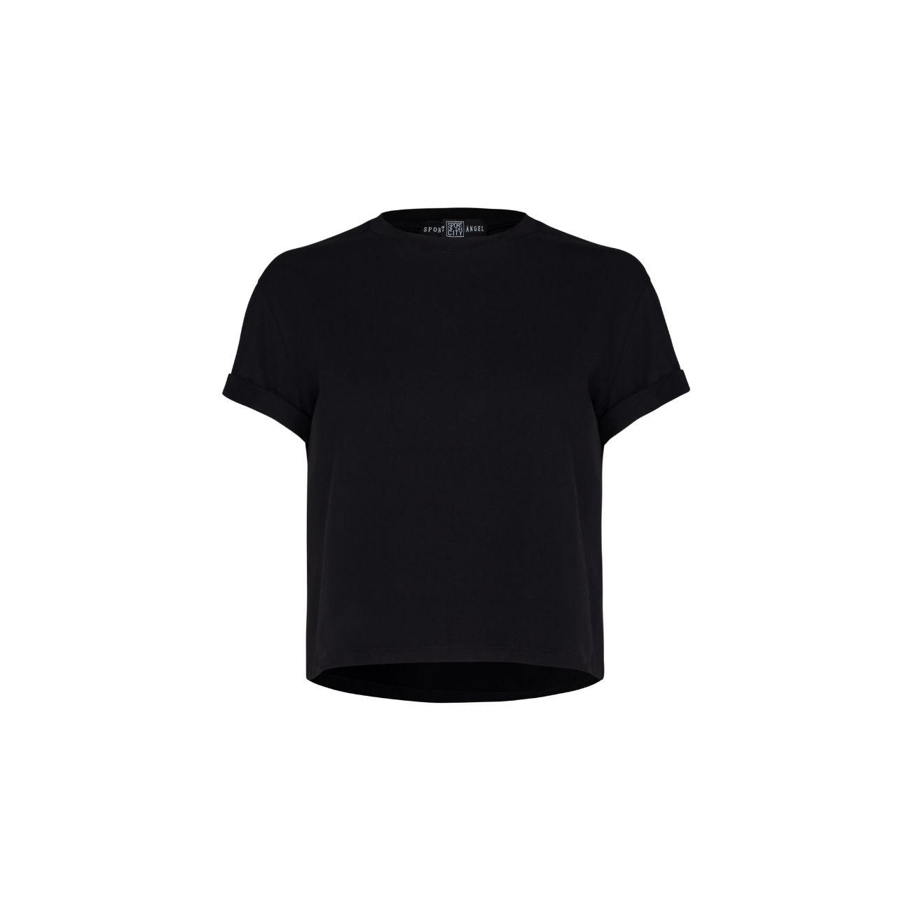 Sport Angel women's black t-shirt