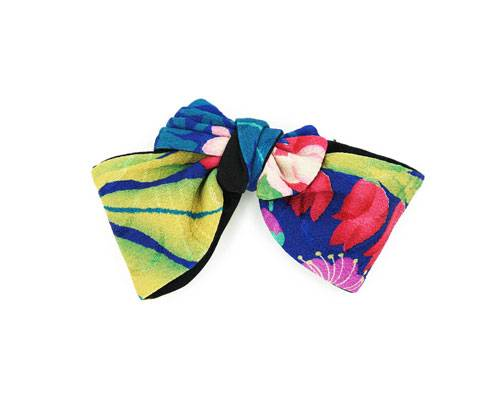 Novel Fineries men's garden party amaryllis silk bowtie