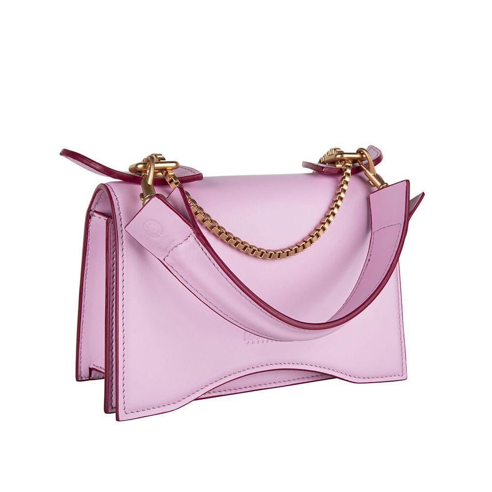 Loes Vrij Diavolino Piccolino Roses Calf Leather Matt Gold Accessories Bag
