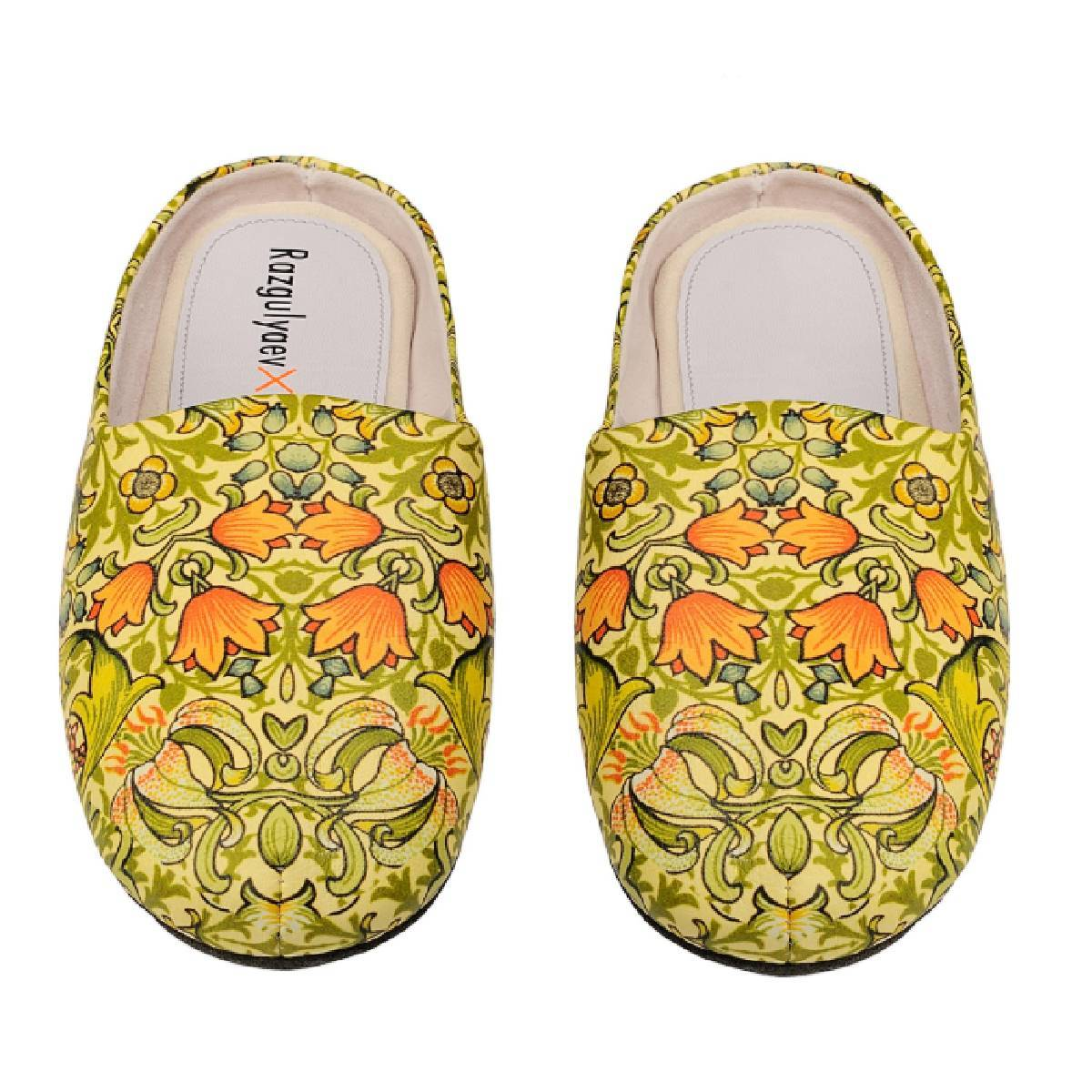 Razgulyaev Blagonravova RxB Women's Garden of Eden home slippers
