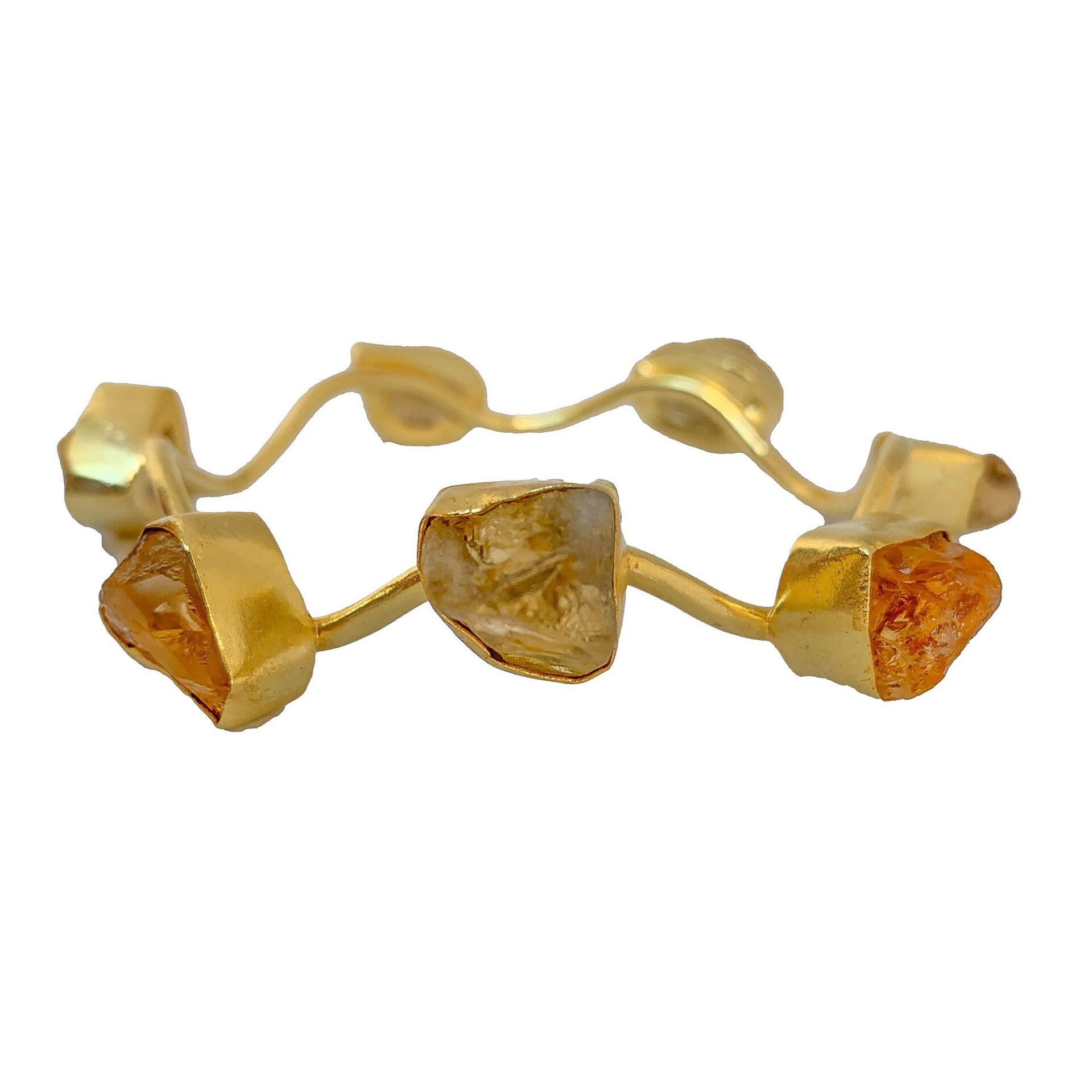 Tanya litkovska Women's Gold Carousel Bangle Bracelets