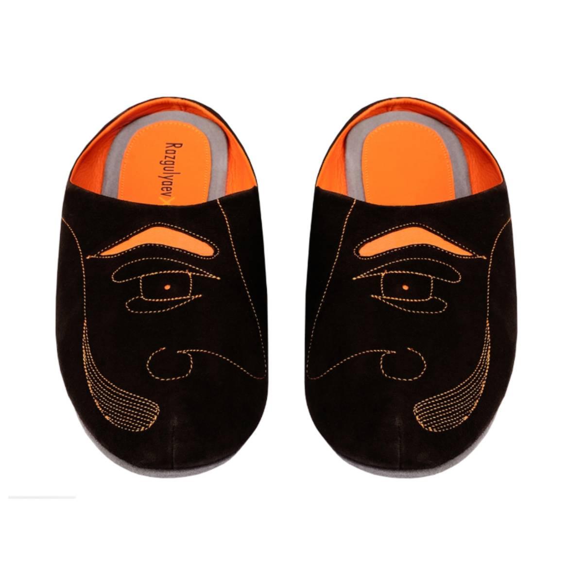 Razgulyaev Blagonravova RxB men's Profile S. Dali home Slippers