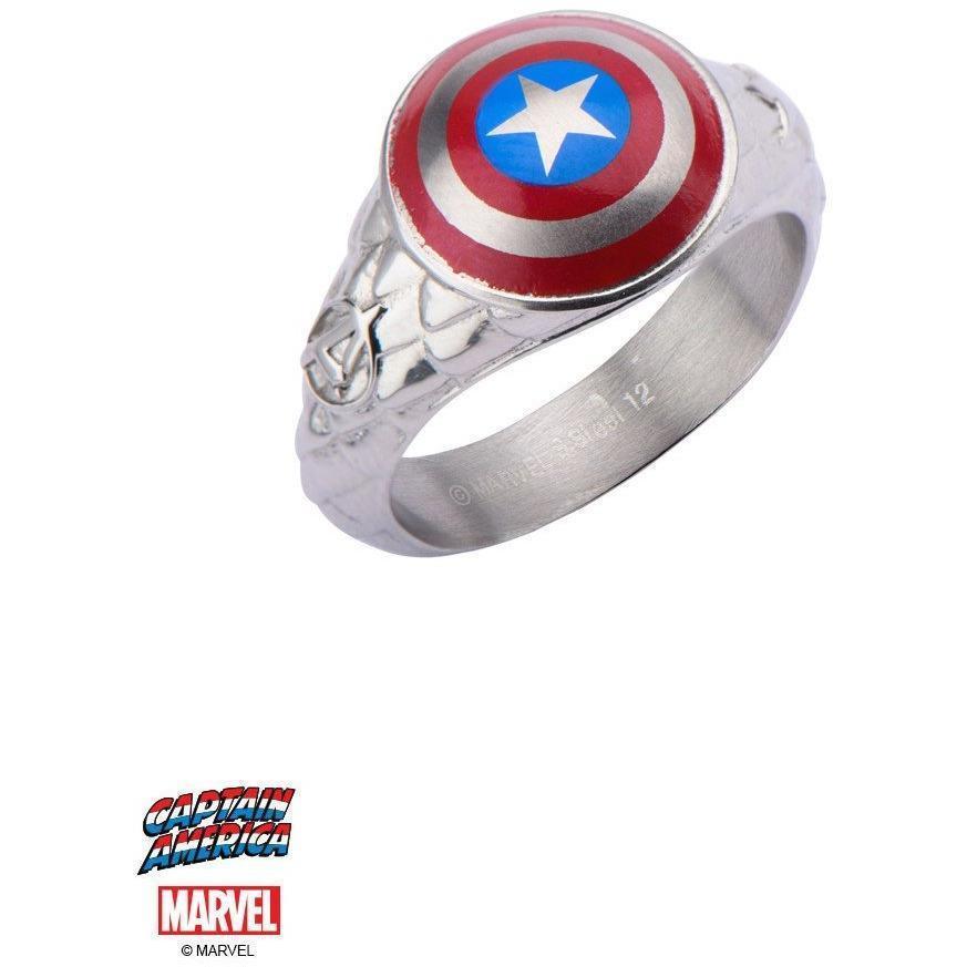 The Marvel Captain America Ring - Chrome
