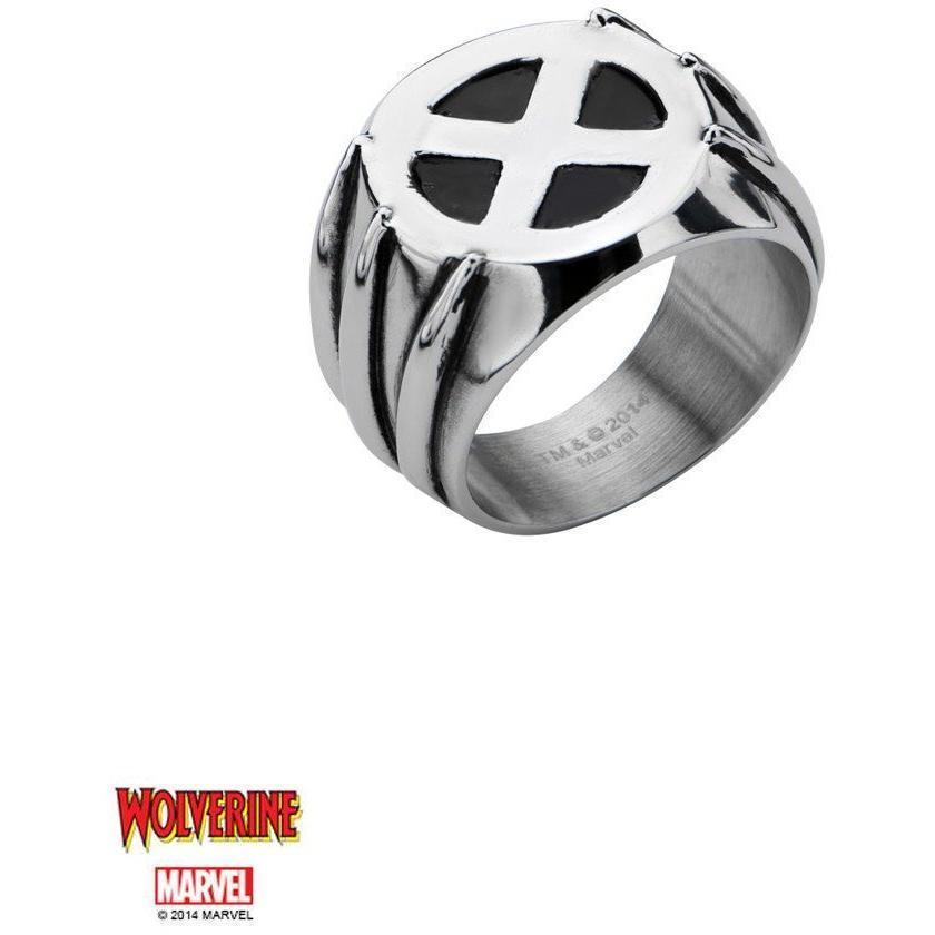 The Marvel XMEN Ring - Chrome