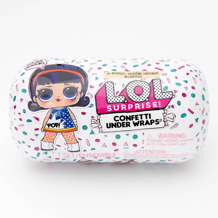 Claire's L.O.L. Surprise!™ Confetti Under Wraps Blind Bag - Styles May Vary