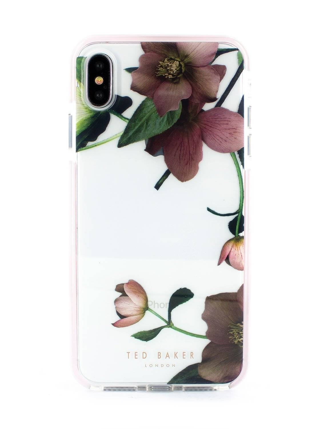 Ted Baker ARBORETUM Anti Shock Case for iPhone XS Max - Clear Back