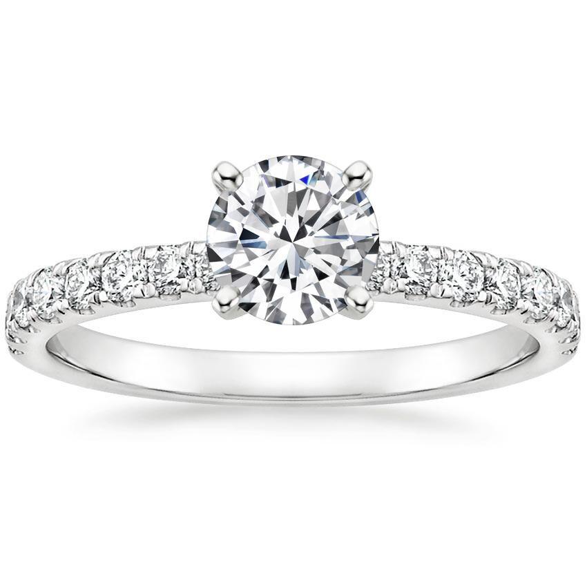 18K White Gold Constance Diamond Ring (1/3 ct. tw.)