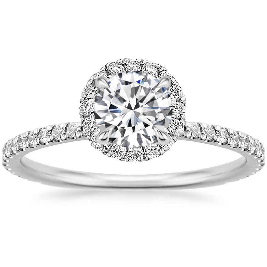18K White Gold Waverly Diamond Ring (1/2 ct. tw.)