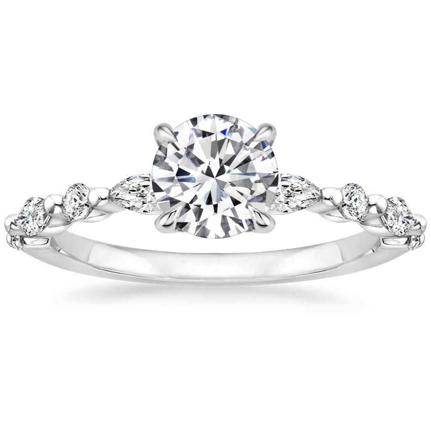Platinum Versailles Diamond Ring (1/3 ct. tw.)