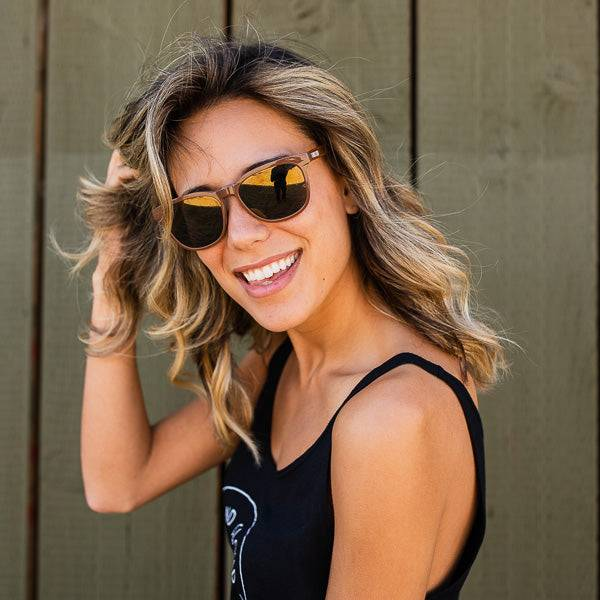 SandCloud Recycled Brown Sunglasses