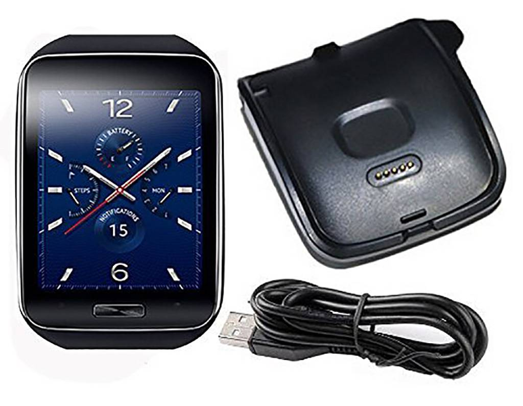 Strapsco Charger for Samsung Gear S SM-R750 & R750T