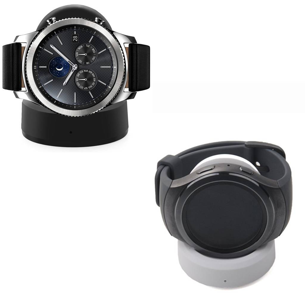 Strapsco Wireless Charger for Samsung Gear S3, Frontier and Classic