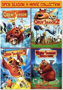 Sony COL D47548D Open Season, Open Season 2 & Open Season 3 Open Season-Scared Silly Color DVD