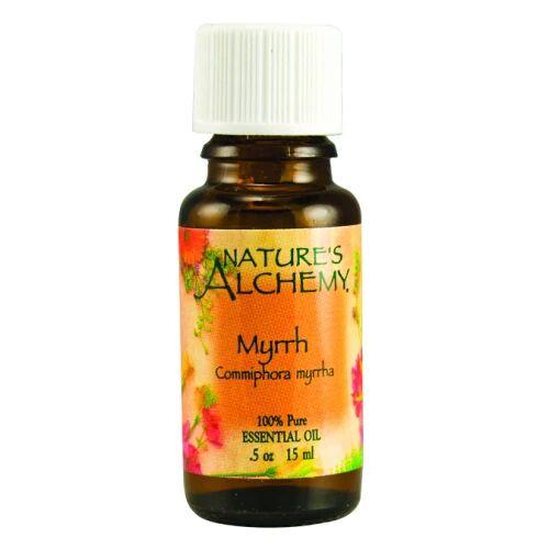 Natures Alchemy Pure Essential Oil Myrrh 0.5 Oz by Natures Alchemy