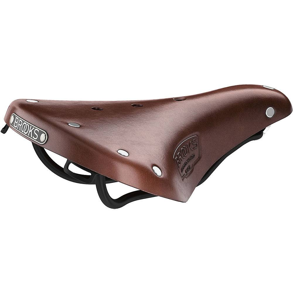 Brooks England B17 Short Bike Saddle - Brown
