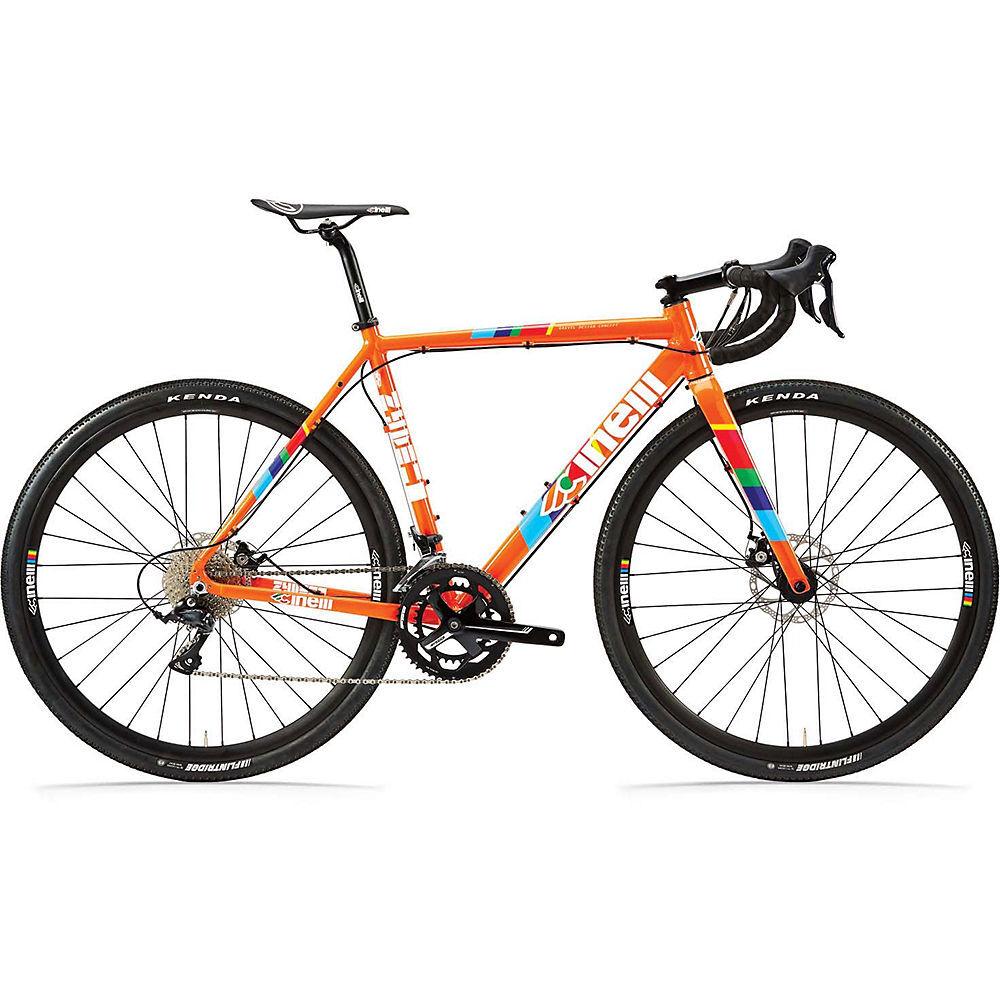 Cinelli Zydeco LaLa Sora Adventure Road Bike 2021 - M - Orange