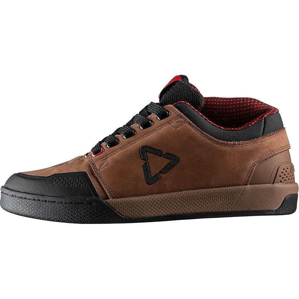 Leatt DBX 3.0 Flat Pedal Shoes(Aaron Chase Ed) 2020 - UK 8.5 - Brown