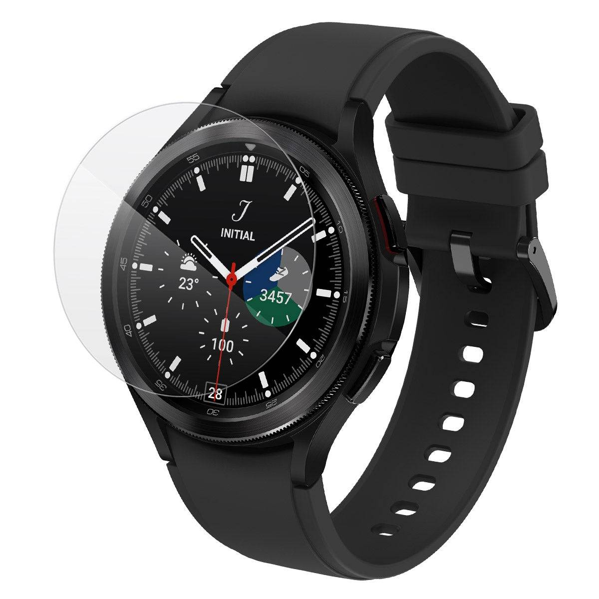 InvisibleShield GlassFusion Samsung Galaxy Watch4 Classic (46mm-Case Friendly)