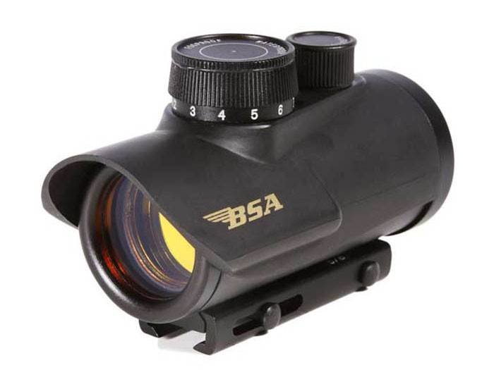 BSA 30mm Red Dot Sight, 3/8 and Weaver Mount