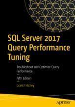 Springer Shop SQL Server 2017 Query Performance Tuning