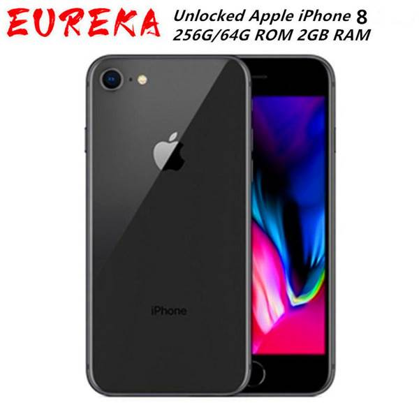 DHgate original refurbished iphone 8 lte mobile phones 256g/64g rom 2gb ram hexa core 12.0mp