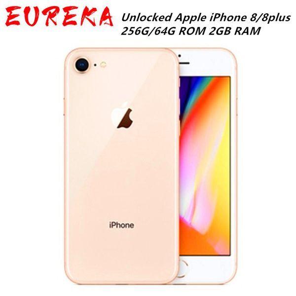 DHgate unlocked apple iphone 8/8plus lte mobile phone 256g/64g rom 2gb ram hexa core 12.0mp 5.5
