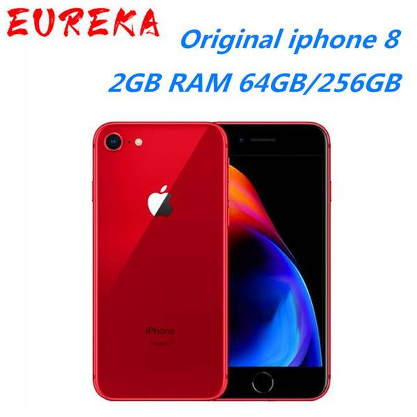 DHgate original unlocked apple iphone 8 lte mobile phone 256g/64g rom 3gb ram hexa core 12.0mp ios f
