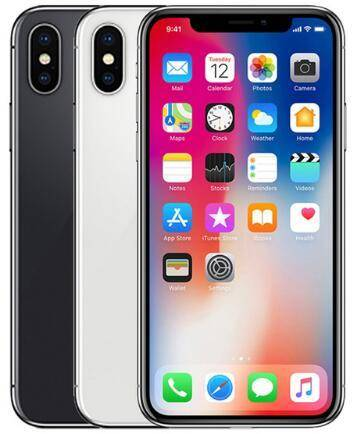 DHgate original unlocked apple iphone x mobile phones 64/256gb rom 5.8inch face id 4g lte ios a11 12