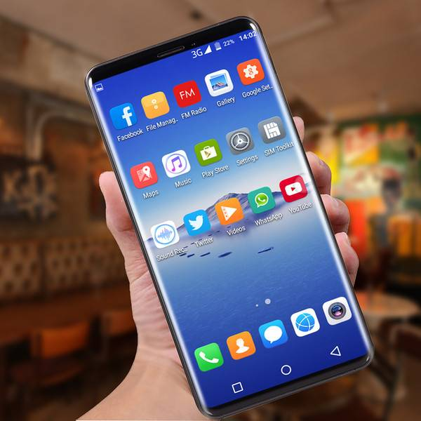 DHgate selling p20 pro mobile phone mtk6580 octa core 3g 5.8inch 512mb ram 4g rom can shown 4g ram 3