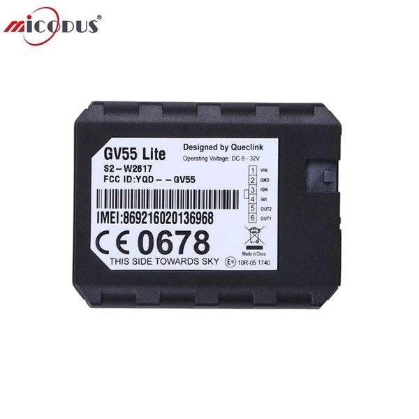 DHgate car gps & accessories micro vehicle tracking device queclink gv55 lite gsm tracker multiple i