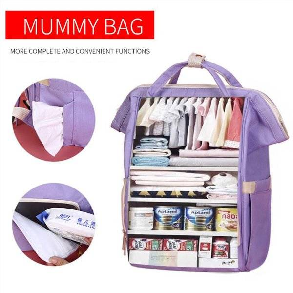 DHgate baby care bag large capacity mom backpack mummy maternity wet bag waterproof baby pregnant tr