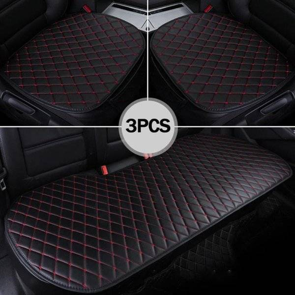 DHgate car seat covers set leather universal cover protection auto seats cushion mats chair protecto