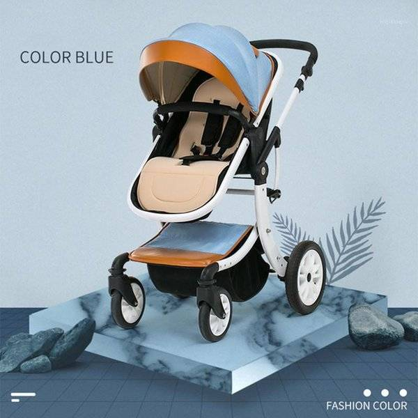 DHgate mother assistant 3 in 1 luxury baby stroller 360 degree rotate carriage frame pu pram eu safe