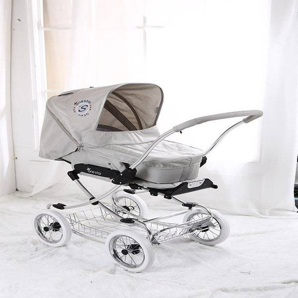 DHgate isabell style royal high visoir baby stroller born basket 2 in 1stroller absorber wheel bassi